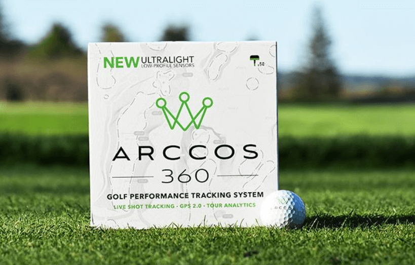 arcoss golf tracking system