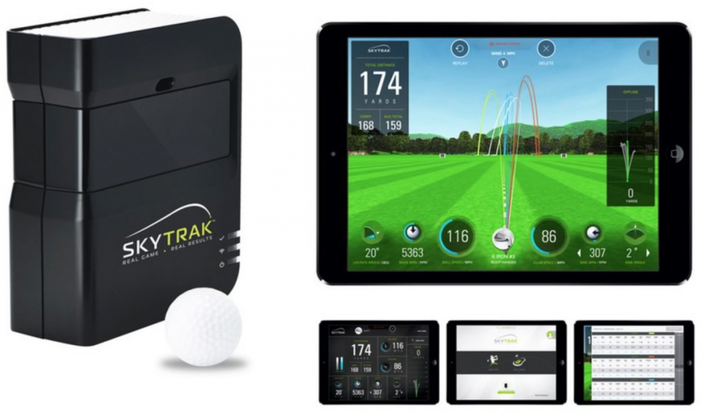 top golf launch monitor